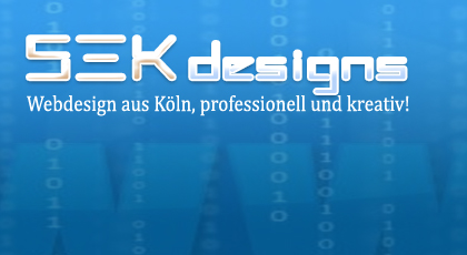 SEK Designs, Webdesign in Köln